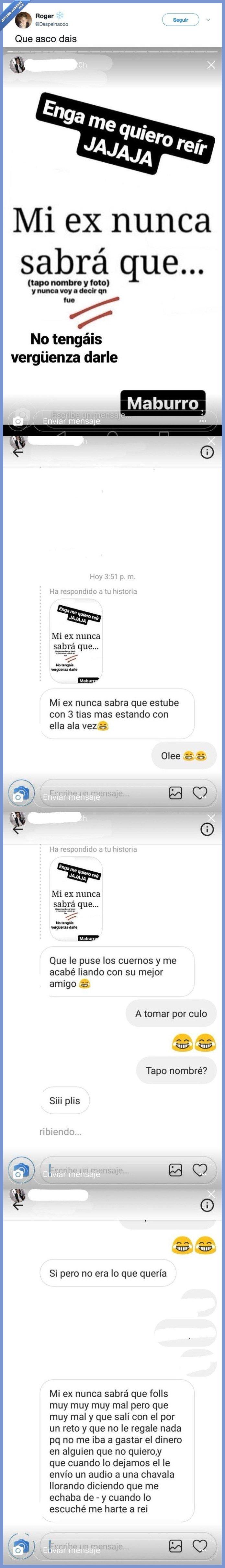 ex,mujer asco