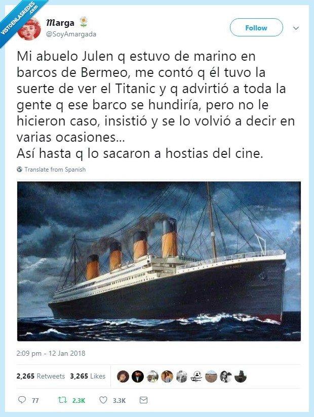 abuelo,cine,julen,titanic