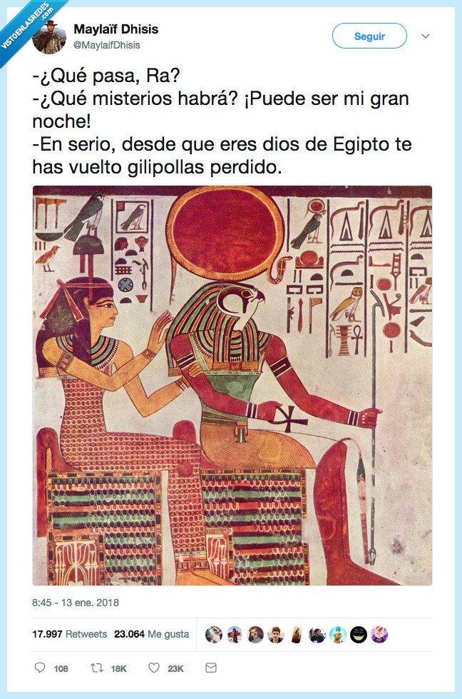 dios egipcio,gran noche,raphael