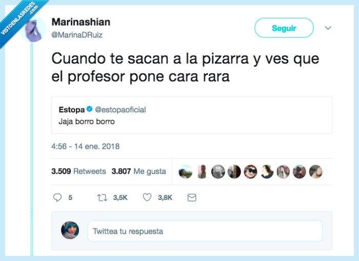 borrar,cara,profesor