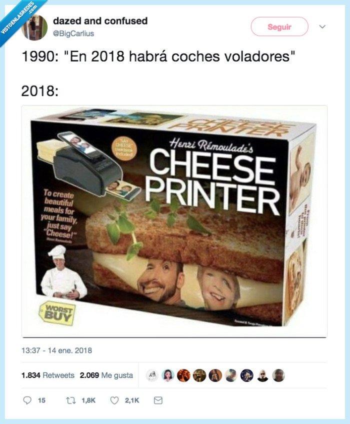 2018,impresora de queso,no es lo que me pensaba