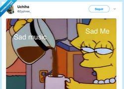 Enlace a En mis peores momentos dame música triste, por @Zyphree_