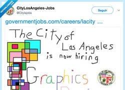 Enlace a Se nota que necesitan a un buen diseñador gráfico, por @Citylajobs
