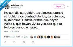 Enlace a Los Carbohidratos cuanto más complejos mejor, por @Xabibenuta