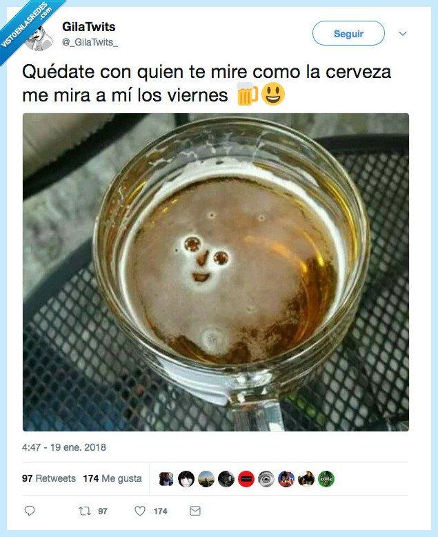cerveza,mirar,viernes