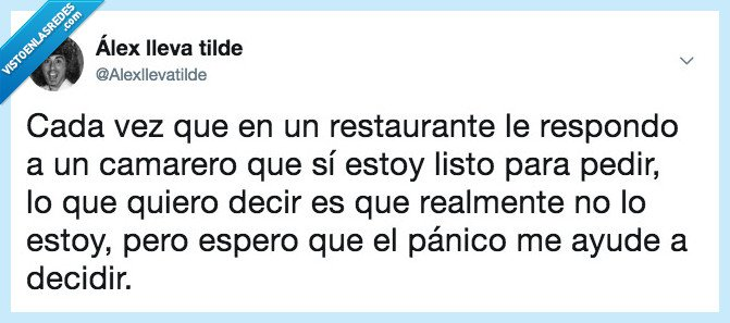 humor,presión,restaurante