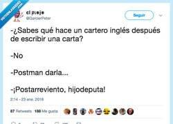 Enlace a Cartero  inglés, por @GarcierPeter
