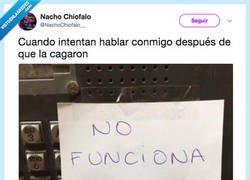 Enlace a NO FUNCIONA, por @NachoChiofao__