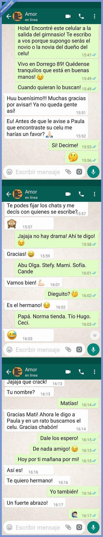 movil whatsapp,novia