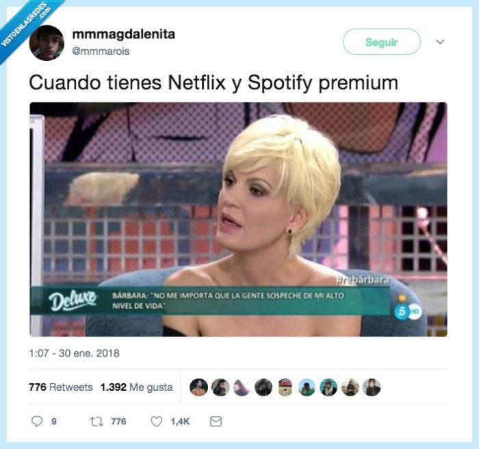 categoría,premium,tweet