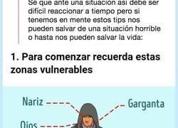 Enlace a Estos consejos de defensa personal se hacen virales porque pueden salvarte la vida, por @mierasincortar