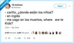 Enlace a Pero dime donde están los niños, por @13mininos