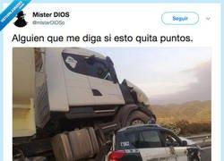 Enlace a No hay puntos en el mundo, por @misterDiOSo