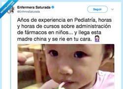 Enlace a El truco definitivo para engañar a un bebé, por @enfermerasaturada