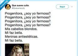 Enlace a Velaské yo soi hermosa?, por @Quesueneculto
