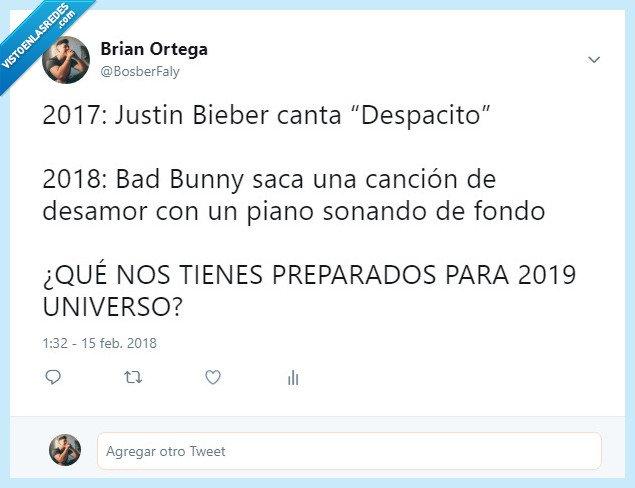 Bad bunny,canciones,musica