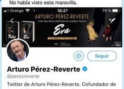 Enlace a Descubren esto en el Twitter de Perez Reverte y ahora empezamos a entender muchas cosas, por @athmalandis