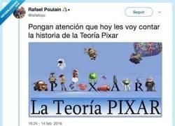 Enlace a Demuestra que todas las películas de Pixar están conectadas entre sí y da un poco de miedo, por @rafallopz