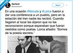 Enlace a Lorca y Neruda: en sus ratos eran cómicos, por @