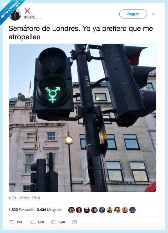 atropellar,semáforo londres