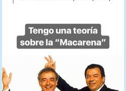 Enlace a Analiza de manera brillante la letra de la Macarena (1/2), por @queridoantonio