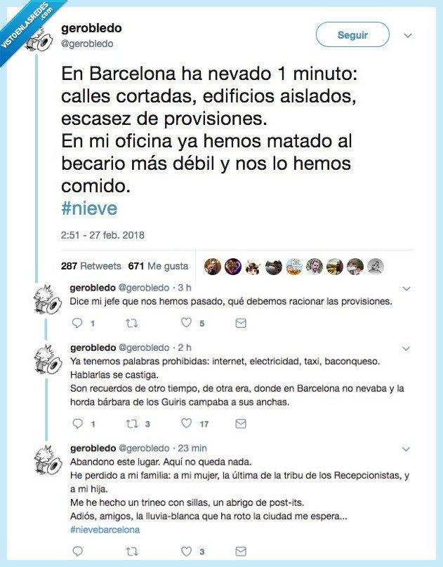barcelona,nevar