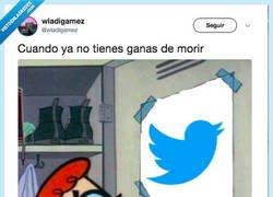 Enlace a Te fallé Twitter, por @wladigamez