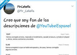 Enlace a En YouTube si que son originales, por @Mr_Cebolla