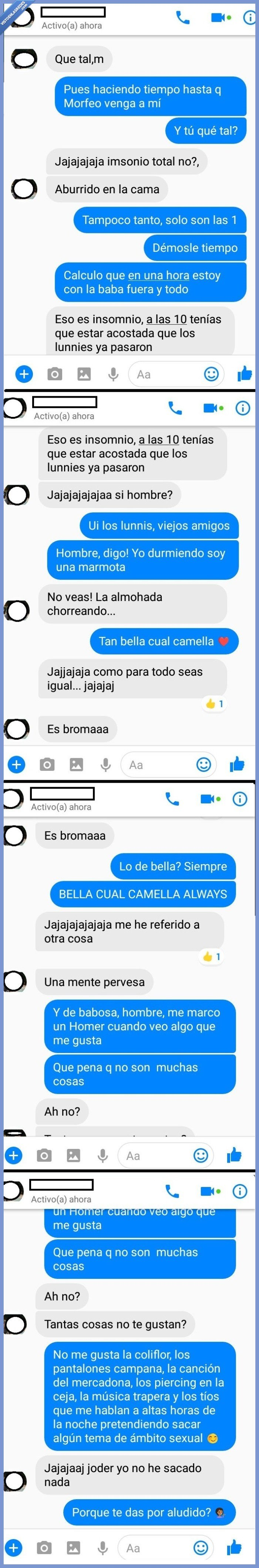conversación,facebook,fail