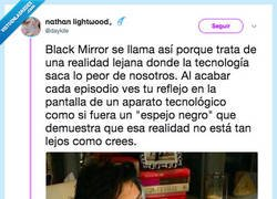 Enlace a ¿WTF con Black Mirror?, por @daykile