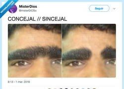 Enlace a La importancia de la ceja, por @misterDiOSo