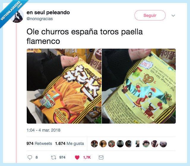 bolsa,churros,españa