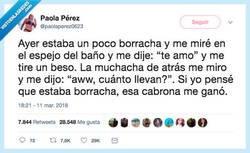 Enlace a Cuando tú vas borracha pero tú amiga más, por @ paolaperez0623