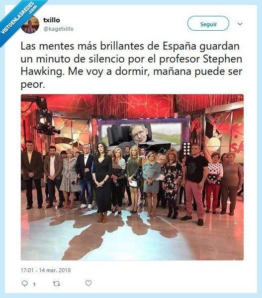 Stephen Hawking sálvame