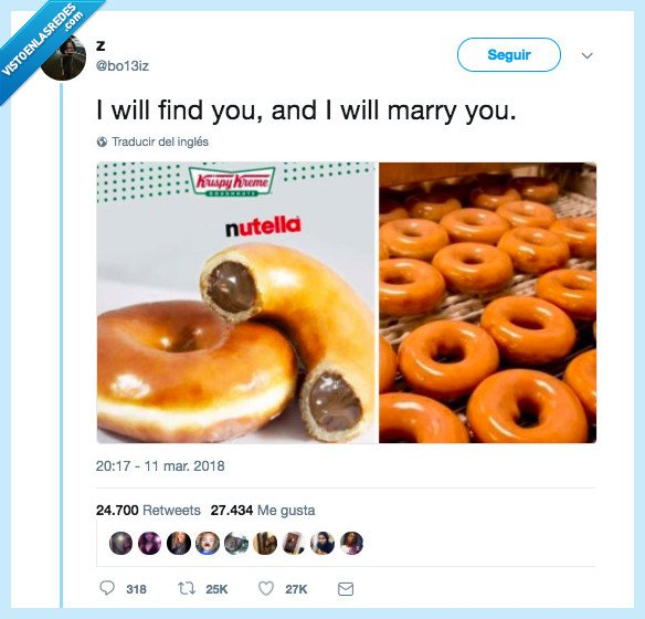 amor,donnut,nutela