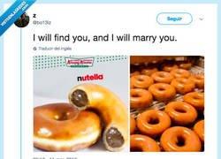 Enlace a Te encontraré y me casaré contigo, por@bo13iz
