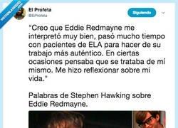 Enlace a La reflexión de Stephen Hawking sobre la película