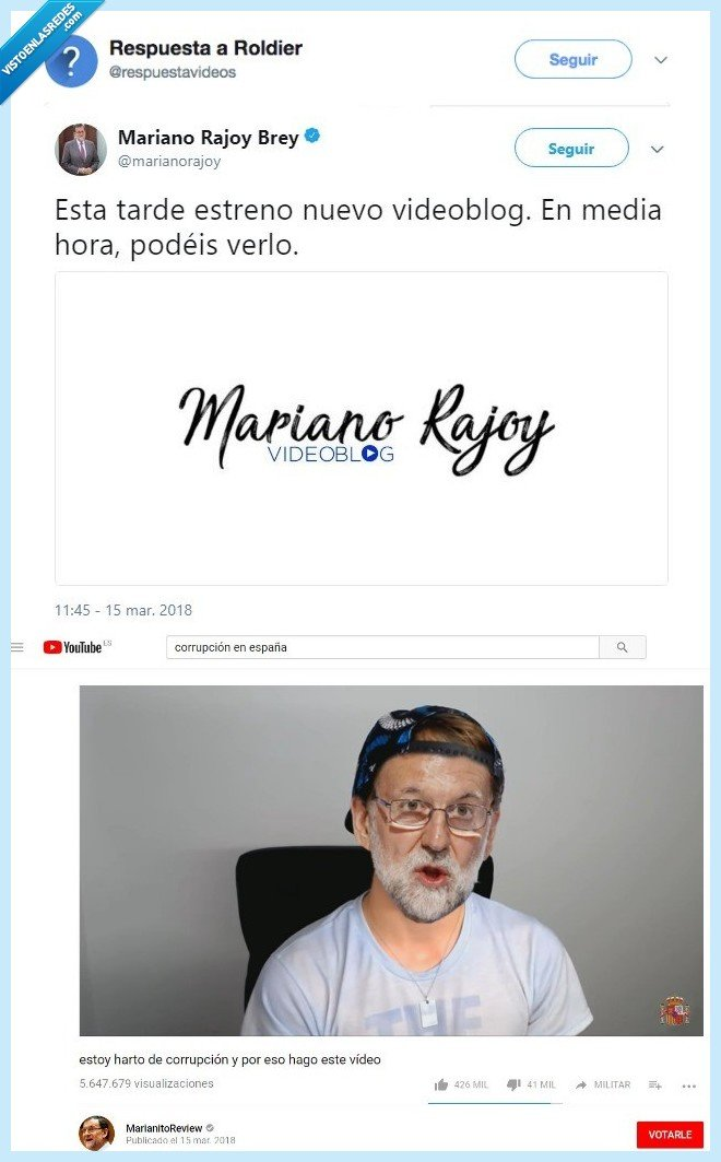 hacerse,mariano rajoy,youtuber