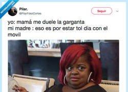 Enlace a Los argumentos de peso de una madre, por @PilarFdezCortes