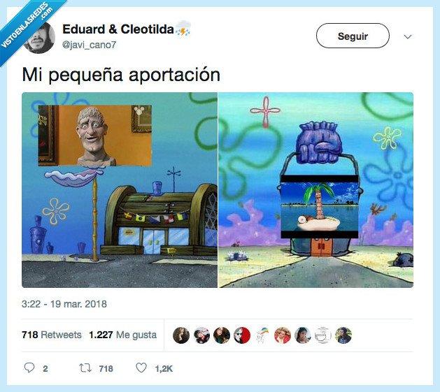 art attack,bob esponja,meme,razón