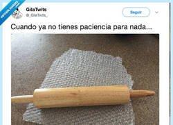 Enlace a Ni gota de paciencia, por @_GilaTwits_