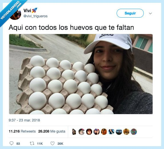 etiquetar,ganas,huevos,persona