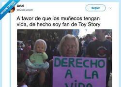 Enlace a Ojalá Toy Story se hiciese realidad, por @ArielLiefeldt