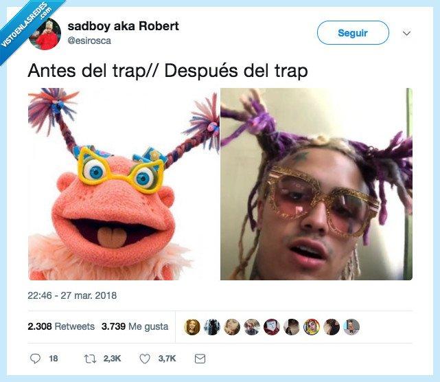 antes,después,trap