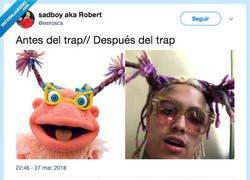 Enlace a Antes y despues del trap, por @esirosca