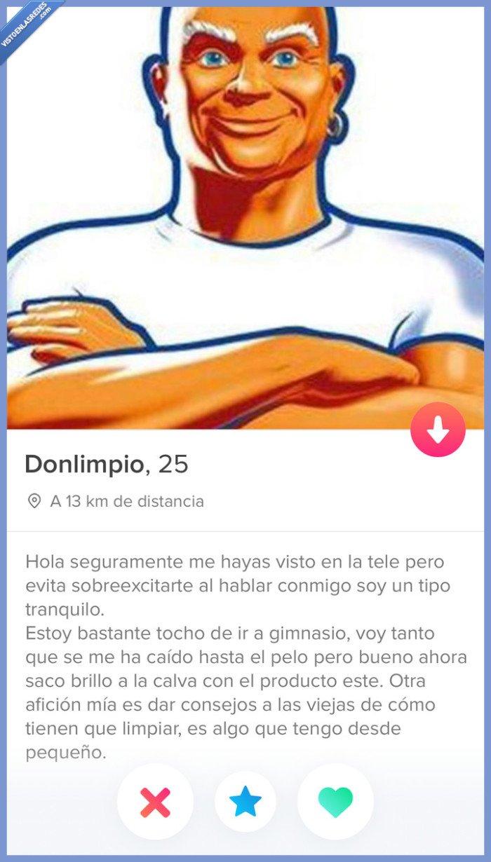 Don limpio,tinder