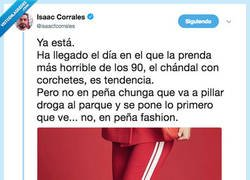 Enlace a Come back to the 90's, por @isaacfcorrales