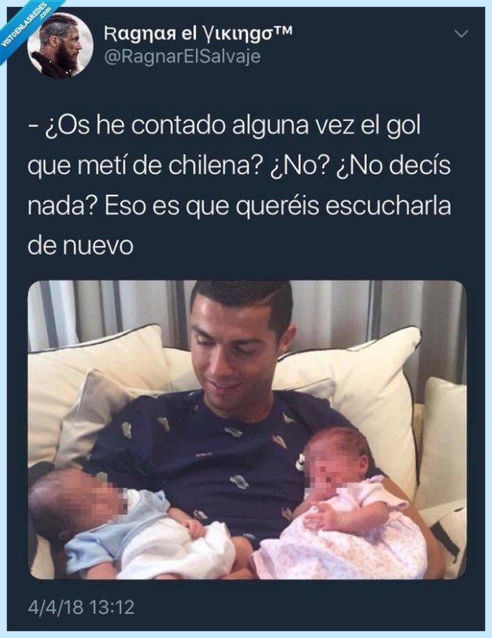#ChilenaCr7 @RagnarelSalvaje