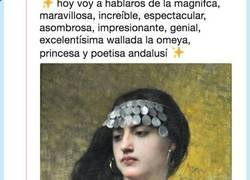 Enlace a Triunfa en twitter la historia de Wallada la Omeya una mujer con unos ovarios muy bien puestos, por @ sgaywalker