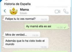 Enlace a La conversación entre el Rey y Doña Sofía después de la pelea tuvo que ser así, por @BrioEnfurecida